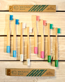Bamboo Toothbrush Kids - MULTIPACKS