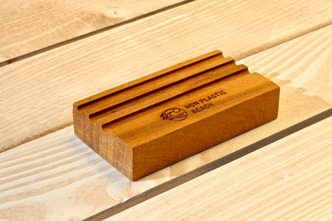 Recycled Iroko Soap Saver