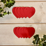 Recycled Heart Gift Tags 10pk