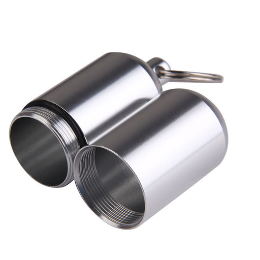 Aluminum Alloy Waterproof Keychain Container
