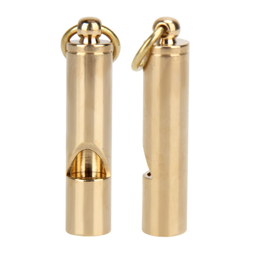 Brass Emergency Whistle