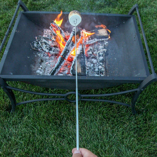 Extendable Fire Roasting Sticks for Marshmallows and Hot Dogs (8-pack with storage bag)