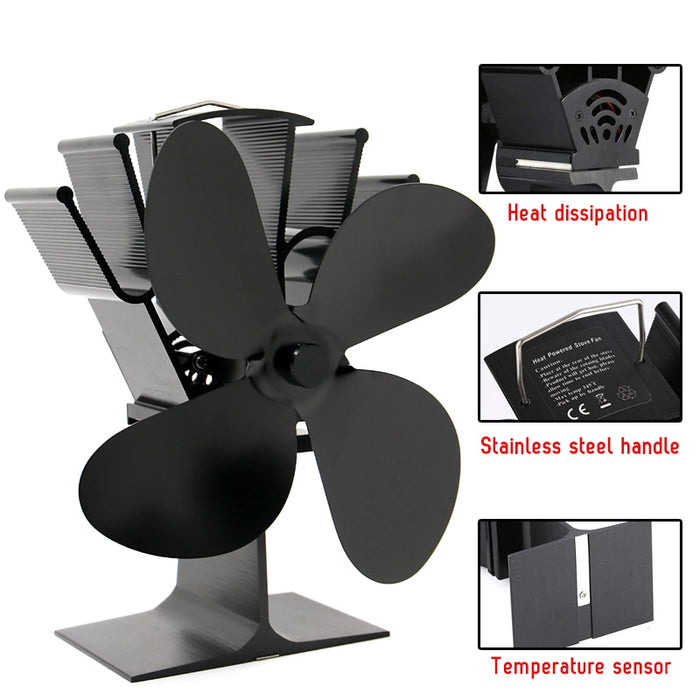 Wood Stove Fan: Thousands of Hours of Home Comfort With No Hassle, No Noise, and No Mess