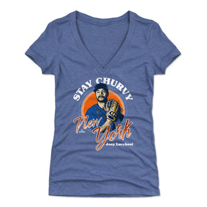 Joey Lucchesi Women's V-Neck T-Shirt | 500 LEVEL