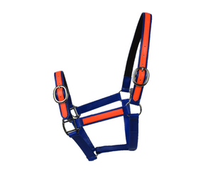 Royal & Orange PVC Head Collar