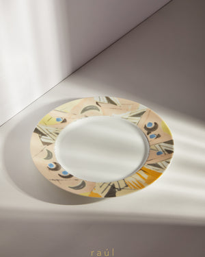 Abstract Dinner Plate