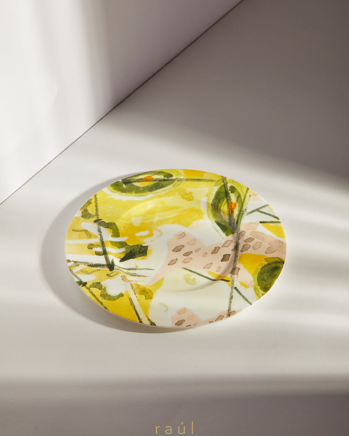 Abstract Salad Plate