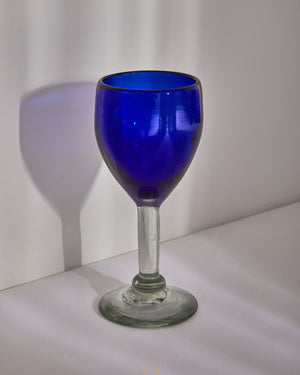 Cobalt Wine Glass