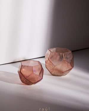 Pink Bowl Tealight