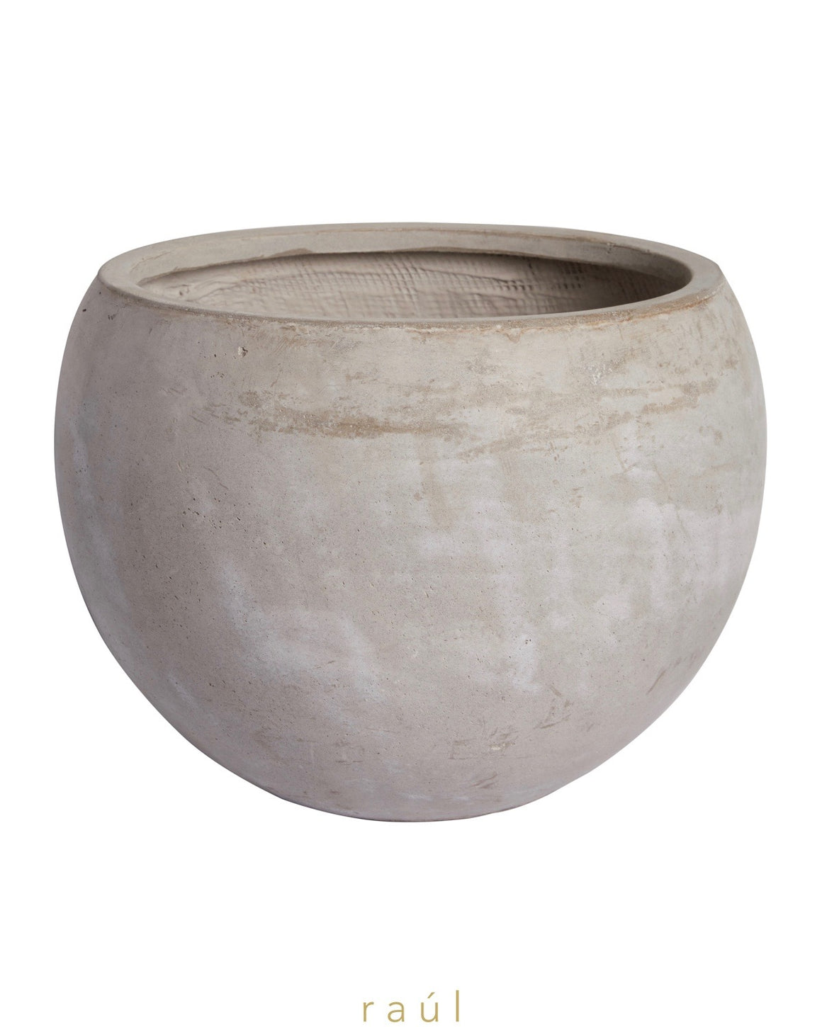 Dark Fiber Clay Pot Medium