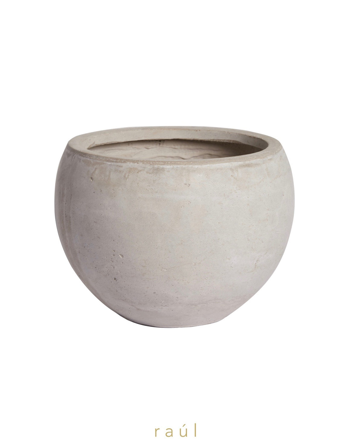Dark Fiber Clay Pot Small