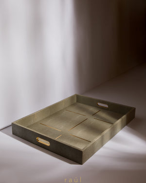 Gold Dash Tray Large