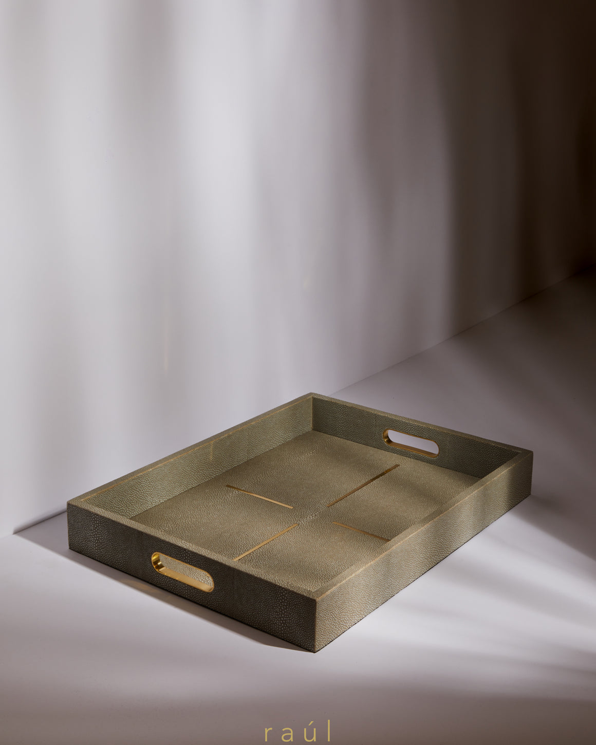 Gold Dash Tray Small