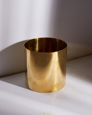 Gold Mirror Vase Small