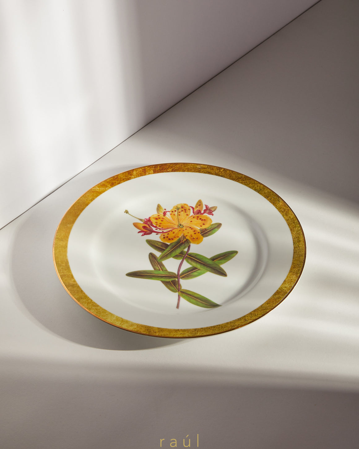 Hibiscus Decorative Plate