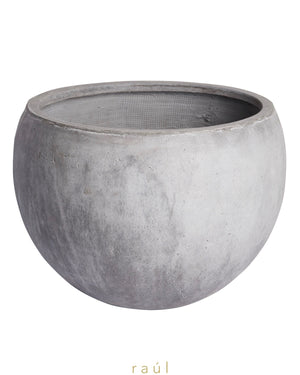 Light Fiber Clay Pot Large