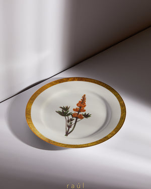 Lion's Tail Decorative Plate