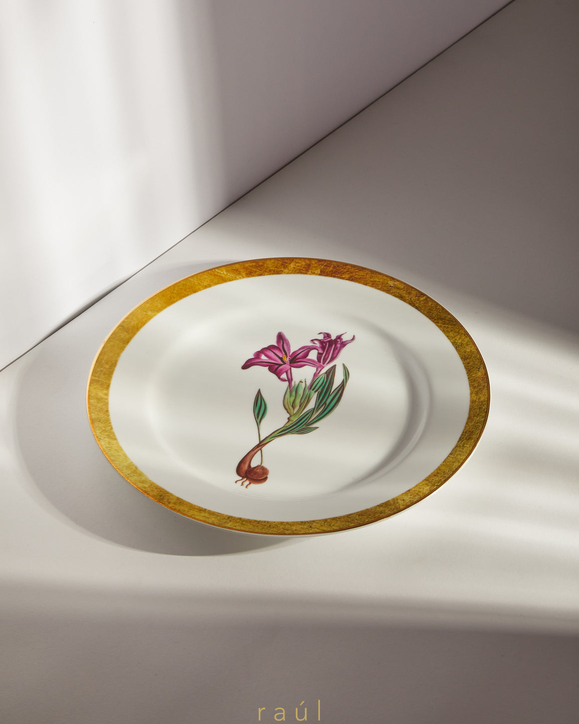 Martagon Lily Decorative Plate