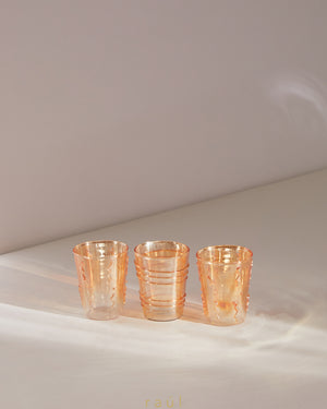 Orange Blossom Votive Set