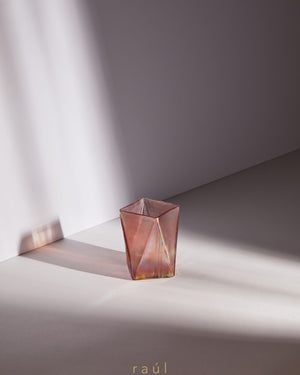 Pink Triangle Tealight