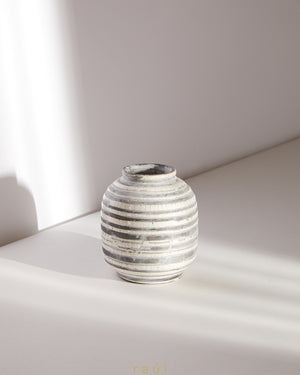Polished Stone Vase Large