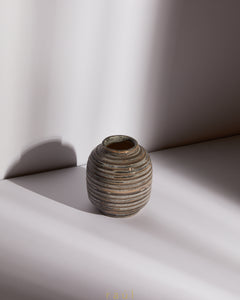Polished Stone Vase Small