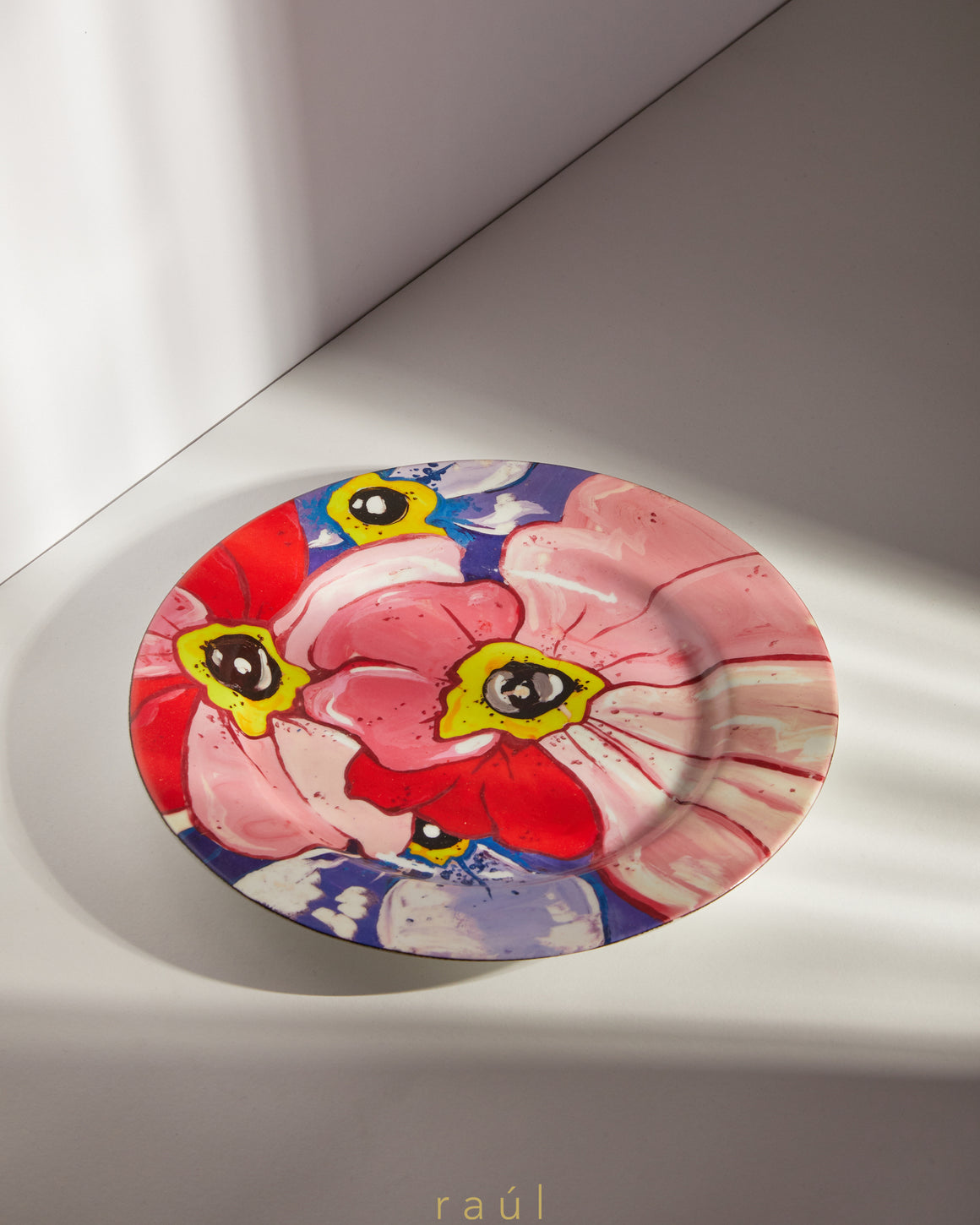 Pop Art Flower Dinner Plate