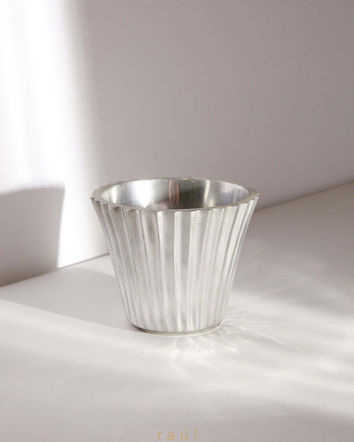 Simple Sterling Cachepot
