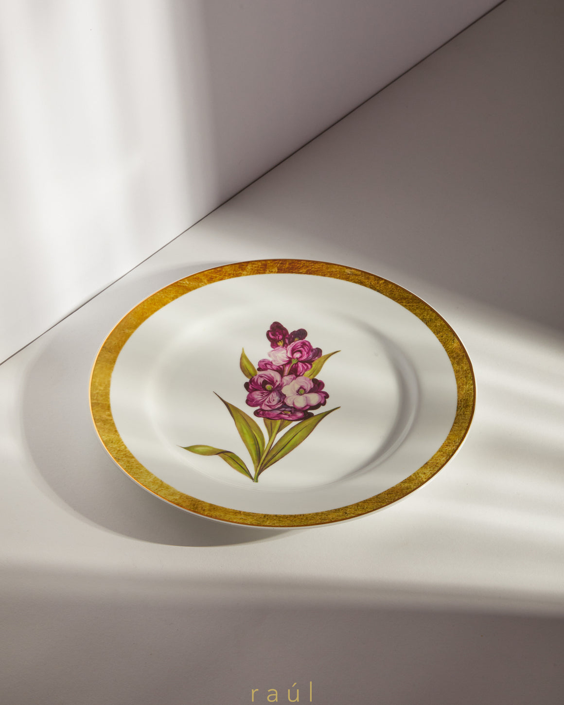 Snapdragon Decorative Plate