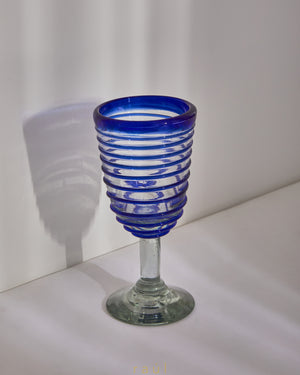Spiral Wine Glass