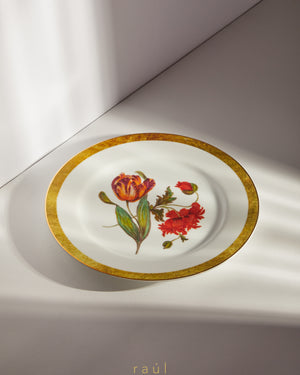 Tulip Decorative Plate