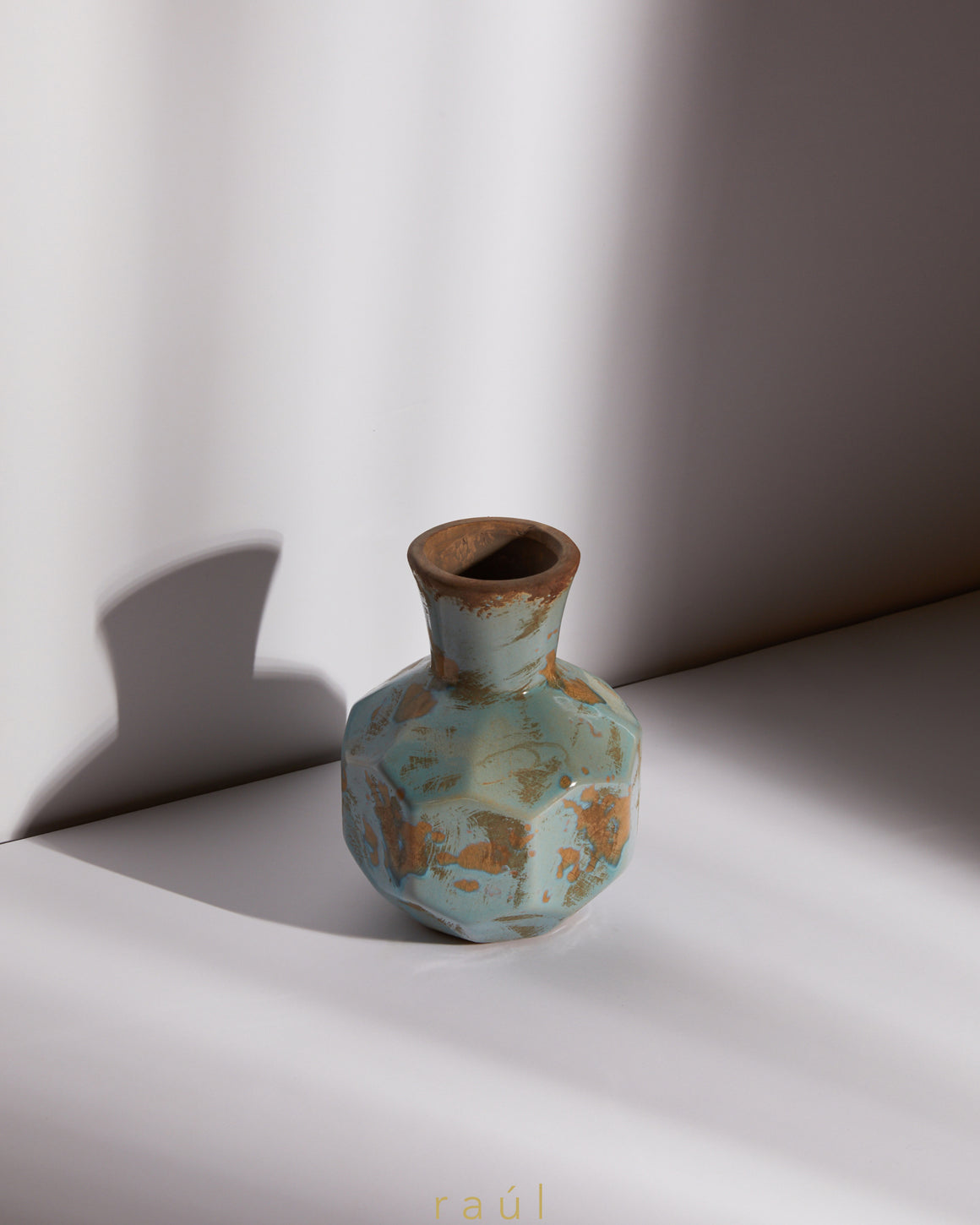 Turquoise Vase Small