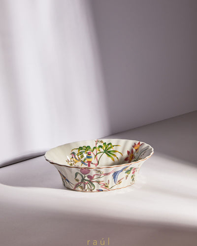 Wide Mouth Floral Dish