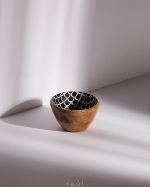 Fishscale Wooden Bowl Extra Small