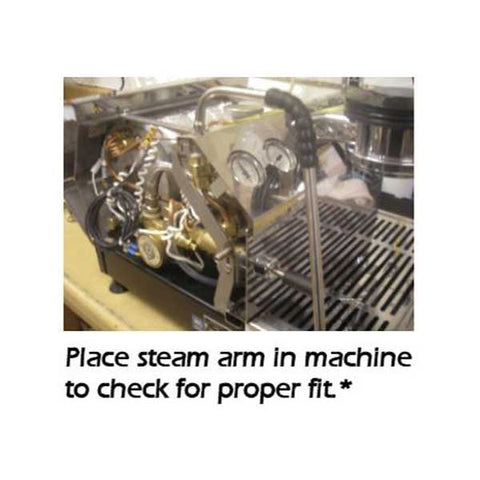 installing a steam arm in the la marzocco gs3