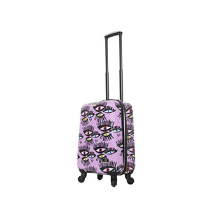 "Halina Bouffants & Broken Hearts BOLD EYES 20"" Carry On Luggage-HALINA - Made with Love"