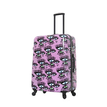 "Load image into Gallery viewer, Halina Bouffants & Broken Hearts BOLD EYES 28"" Luggage (With Lock)-HALINA - Made with Love"