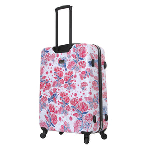 "Halina Car Pintos FLY 28"" Floral Luggage (Lock Version)-HALINA - Made with Love"