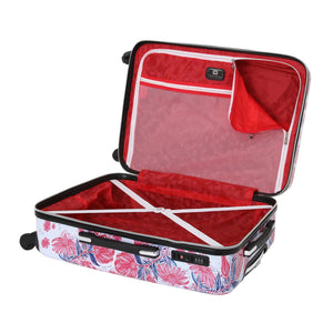 "Halina Car Pintos FLY 24"" Floral Luggage (Lock Version)-HALINA - Made with Love"
