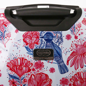 "Halina Car Pintos FLY 28"" Floral Luggage-HALINA - Made with Love"
