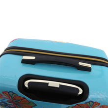 Load image into Gallery viewer, Halina Car Pintos OH LA LA 3 Piece Floral Cartoon Luggage Set-HALINA - Made with Love