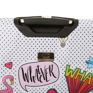"Halina Nikki Chu WHATEVER 20"" Carry On Cute Luggage-HALINA - Made with Love"