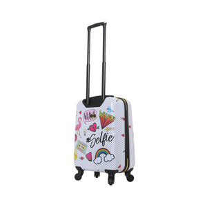 Halina Nikki Chu WHATEVER 3 Piece Cute Luggage Set-HALINA - Made with Love