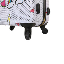 "Load image into Gallery viewer, Halina Nikki Chu WHATEVER 24"" Cute Luggage-HALINA - Made with Love"