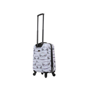 "Halina Valerie Valerie AUBERGINE 20"" Carry On Bird Luggage-HALINA - Made with Love"