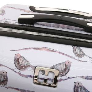 "Halina Valerie Valerie AUBERGINE 28"" Bird Luggage (Lock Version)-HALINA - Made with Love"