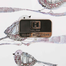 "Load image into Gallery viewer, Halina Valerie Valerie AUBERGINE 24"" Bird Luggage-HALINA - Made with Love"