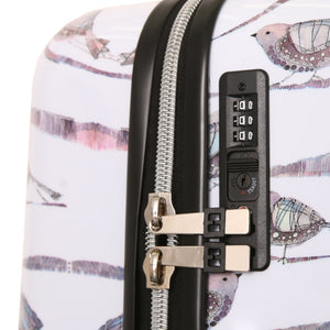 "Halina Valerie Valerie AUBERGINE 24"" Bird Luggage (Lock Version)-HALINA - Made with Love"