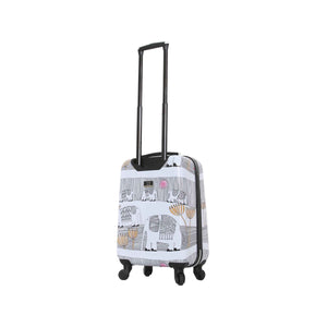 "Halina Valerie Valerie ELEPHANTS 20"" Carry On Elephant Luggage-HALINA - Made with Love"