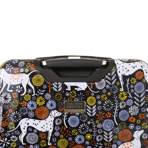 "Halina Vicky Yorke URBAN JUNGLE DOGS 28"" Dog Print Luggage-HALINA - Made with Love"